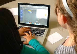 Scratch with 2nd Graders